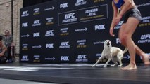 Highlights from the UFC on FOX 24 open workout: Rose Namajunas