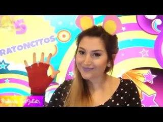 5 ratoncitos - Bailando con Julieta - Canción infantil
