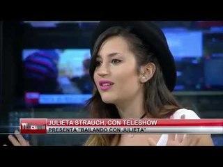Entrevista Julieta Strauch en Teleshow - Infobae