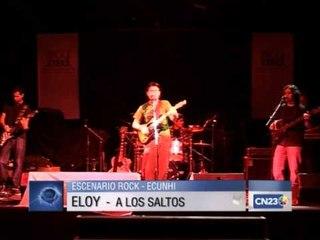 ELOY EN EL ECUNHI CON LEON GIECO
