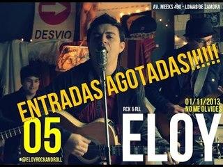 ELOY EN NO ME OLVIDES CUMPLIENDO 5 AÑOS (PARTE  1)