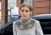 Scary Skinny Gigi Hadid Bares Her Abs In Crop Top