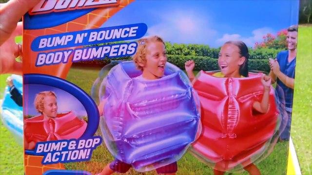 BUMP N BOUNCE Slip N Slide Fight Ball Challenge Family Fun Toy Fun Worlds Best Surprise