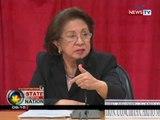 SONA: Ombudsman Morales, naniniwalang maisasalba pa ang kasong plunder laban kay Arroyo