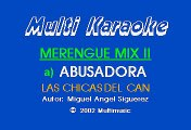 Merengue Mix 02 - Abusadora, El AFricano, El Negrito del Batey (Karaoke)