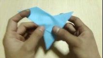 【折り紙】 小鳥(ことり)の折り方
