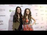 Laura Marano & Vanessa Marano | TigerBeat Launch Event Pink Carpet