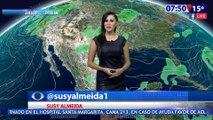 Susana Almeida Pronostico del Tiempo 13 de Abril de 2017