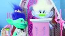 TROLLS WEDDING Poppy & Branch Get Married! Poppy Bride Dress Up & Makeover Doll Parody Di