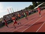 Athletics - men's 200m T44 final - 2013 IPC Athletics WorldChampionships, Lyon New WR