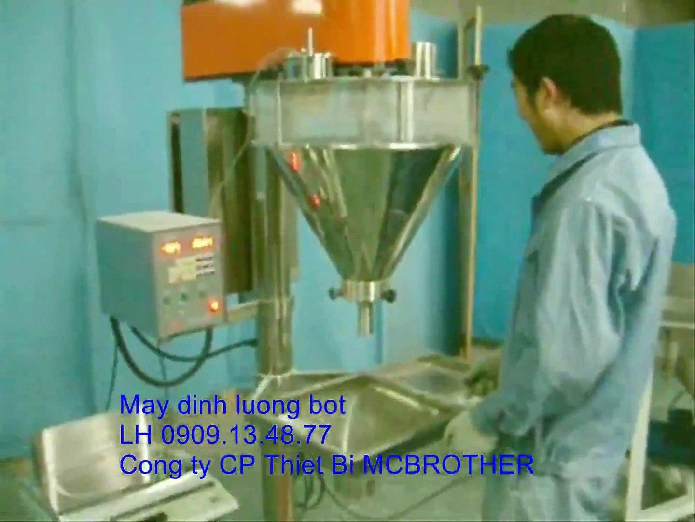 Máy định lượng bột trục vít, máy định lượng bột tự động, máy định lượng bột thực phẩm, hóa chất (1)
