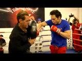 Julio Cesar Chavez Jr. vs. Andrzej Fonfara Full Video- Chavez Jr. media workout