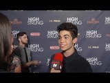 "Cameron Boyce Interview ""High Strung"" Premiere"