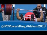 Powerlifting - men's -54kg - 2013 IPC Powerlifting Open European Championships Aleksin