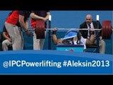 Powerlifting - men's -107kg, +107kg - 2013 IPC Powerlifting European Open Championships Aleksin