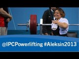 Powerlifting - women's -41kg, -45kg - 2013 IPC Powerlifting Open European Championships Aleksin
