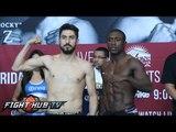 Andre Berto vs. Josesito Lopez Full Video- Intense Face Off  + Shawn Porter makes weight