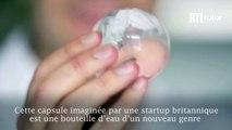 VIDÉO - Ooho, de l'eau dans des capsules comestibles contre la pollution plastique