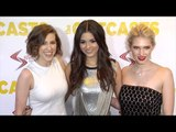"Victoria Justice, Eden Sher, Claudia Lee ""The Outcasts"" Premiere Red Carpet"