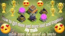 town hall 8 best attack strategy for war loot and trophies also effective on decent Town hall 9