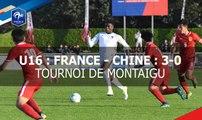 U16 : France - Chine (3-0), le résumé