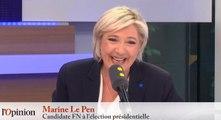 Marine Le Pen : «Je ne suis pas comme Macron, je ne suis pas one-shot»