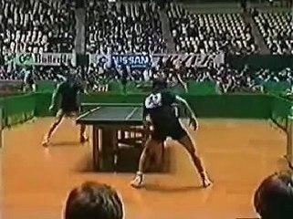 1983 WCTT Tokyo Mikael Appelgren - Jacques Secretin