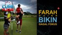Farah Quinn Main Golf, Penonton Gagal Fokus - CumiFlash 14 April 2017