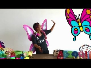 Aprende a bailar la canción de Posha la Mariposa: Olanda y la Caja Mágica