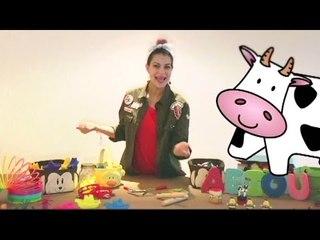 Canta la canción de la Vaca Lola - Olanda y su Animágicos - La Caja Mágica