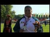 Athletics -  women's shot put F58 Medal Ceremony  - 2013 IPC Athletics World Championships, Lyon