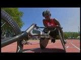 Athletics -  women's 200m T54 semifinals 1  - 2013 IPC Athletics World Championships, Lyon
