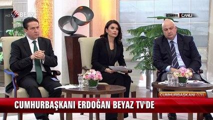 Cumhurbaşkanı Erdoğan Beyaz TV'de - Referandum Özel