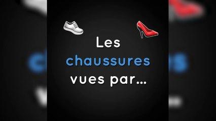 Les chaussures vues par...