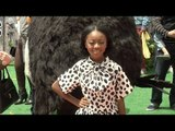 "Skai Jackson ""The Angry Birds Movie"" Los Angeles Premiere Red Carpet"