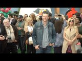 """Blake Shelton """"The Angry Birds Movie"""" Los Angeles Premiere Red Carpet"""