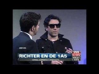 Richter - En vivo en C5N completo con Entrevista