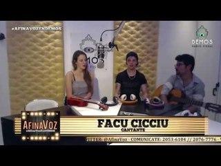 Entrevista a Facu Cicciu - Demos RadioVisual - Diciembre 2016