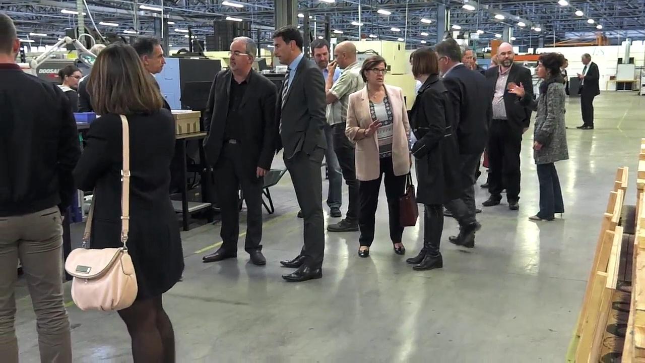 MEDEF Périgord - réunion Secteur Terrasson - Mecatep 4 avril 2017