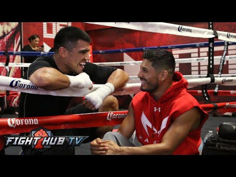 Victor Ortiz vs. Manuel Perez - Full Video - Ortiz media workout