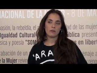 """Sara Hebe en """"Somos Todas. Mujeres en libertad"""""""