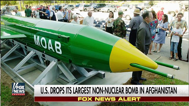 US hits ISIS compound using bomb with one-mile blast radius
