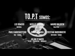 TO.P.T en vivo Zebra Club 2016 - 14 CREDITOS DVD
