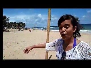 Playa de Stella Mares- Salvador Bahia -Charlas con Aythana