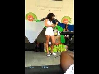 Aythana - show en el club Fantoche de Salvador Bahia Brasil