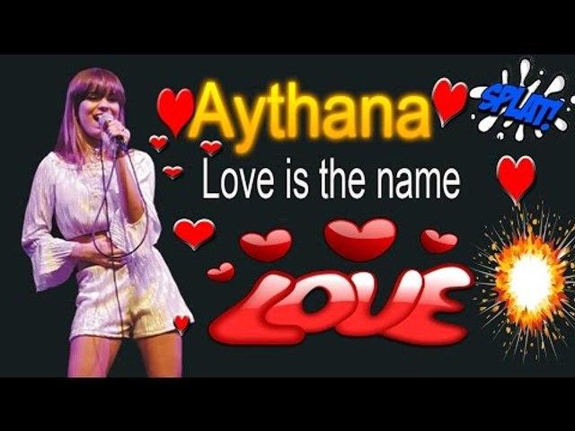 Love is the name - Aythana cover- (Sofia Carson)