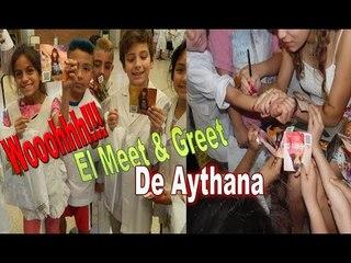 Meet & Greet  en la escuela 11 de la Boca - Aythana
