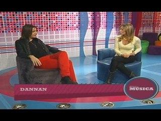 """Emmanuel Danann en el programa de TV """"Solo Música"""""""
