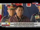 BT: U.S. Pres Obama, kasama na rin sa mga inimbitahan ni Pres. Duterte