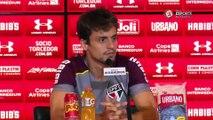 Rodrigo Caio rebate jornalista e diz que São Paulo tem chances na Copa do Brasil